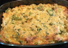 Besameles, csirkés, rizses karfiol recept foto Tofu, Nutella, Quiche, Cake Recipes, Dinner Recipes, Food And Drink, Drinks, Cooking, Breakfast