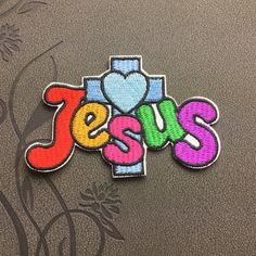 Jesus Patch embroidery Punk Patches iron on patches Sew on patches Cartoon patch