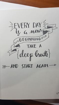Calligraphy Quotes Doodles, Doodle Quotes, Hand Lettering Quotes, Typography Quotes, Bullet Journal Quotes, Bullet Journal Ideas Pages, Bullet Journal Inspiration, Cute Quotes, Words Quotes