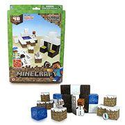 Minecraft Papercraft Snow Set 48-Piece Pack