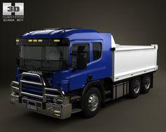 Scania R 420 Tipper Truck 2004