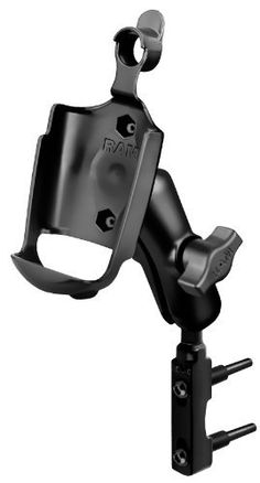 RAM Mounting Systems RAM-B-174-GA20U Brake/Clutch Reservoir Mount for Garmin Rino 520, 520HCX, 530, 530HCX by RAM. $36.16. The RAM marine grade aluminum mount with motorcycle brake/clutch adaptor base includes a 1'' diameter ball and socket system with RAM plastic cradle for the Garmin Rino 520, 520HCX, 530, and 530HCX.  The base attaches to the left or right side of your handlebar brake/clutch clamp on the Honda Goldwing and other similar style motorcycles.  To chec...