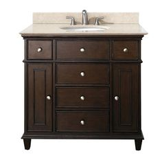 Free Shipping when you buy Avanity Windsor 36 Vanity Set at Wayfair - Great Deals on all Furniture products with the best selection to choose from!