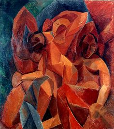 """""""3 Mujeres"""" -3 women   By: Pablo Picasso (1881-1973, Spain)  óleo//oil painting"""