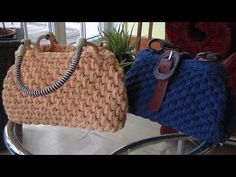 How to fashion - Sommertasche, schnell gehäkelt - YouTube