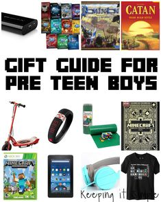 Amazing Inexpensive Gifts for Teen Boys: Unplugged! | Electronic ...