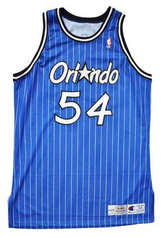 Game Worn/Issued Horace Grant Orlando Magic Jersey - 52 (Blue)