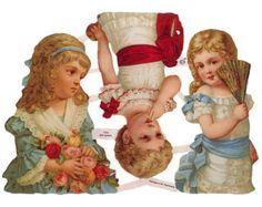 Image result for victorian  angel paper scraps