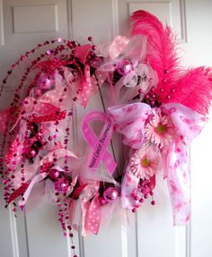 Breast Cancer Awareness Wreath!