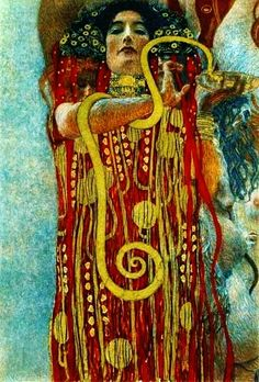 Klimt--Medicine woman