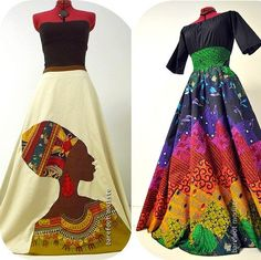 Exquisite Canadian Handmade Clothing & by BarefootModiste on Etsy African Party Dresses, African Wedding Attire, African Print Dresses, African Attire, African Wear, African Fashion Dresses, African Dress, African Inspired Fashion, African Print Fashion