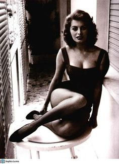 Sophia Loren.  I had a Sophia Loren movie marathon recently.  Just saw her in Two Women.  Wow.  Love her palpable sexiness.