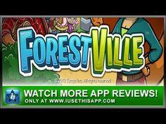 ForestVille iPhone App - Game iPhone App - App Reviews #iphone #apps #appreviews #IUTA