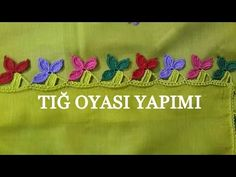 Tığ Oyası Yapımı - YouTube Lace Saree, Diy And Crafts, Knitting, Youtube, Crafts, Lace, Ganchillo, Tejidos, Knitting And Crocheting