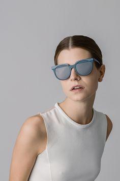Veronika Wildgruber eyewear | Josie_teal