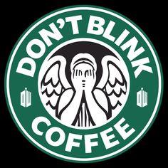 """Don't blink Coffee""  by hunekune"