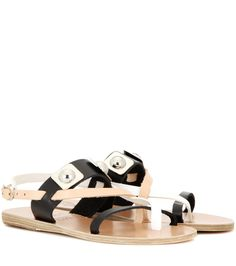 21a1ef09f2e1 Ancient Greek Sandals for Peter Pilotto - Alethea leather sandals - The  neutral