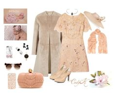 Blush & Pastel Pink by cody-k on Polyvore featuring polyvore fashion style Notte by Marchesa Helmut Lang Alexander McQueen Marc by Marc Jacobs Kevin Jewelers Valentino Donna Karan Philip Treacy Thierry Lasry clothing