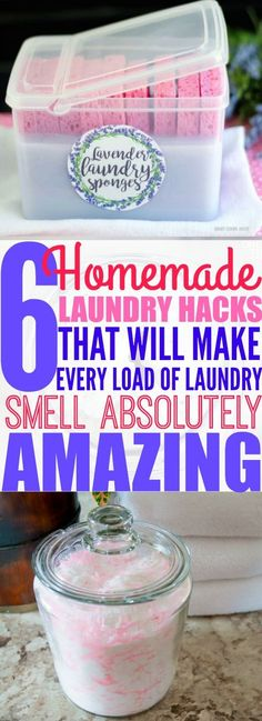 If you're tired of your clothes smelling stale, even after being washed, then you need to try these 10 laundry hacks that will make your laundry smell amazing! Pinning for later!