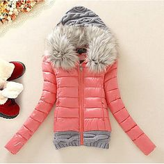 This is probably the cutest jacket ever.  It also comes in blue, black, yellow, and light blue <3