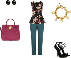 """Flowers for Job"" by naymoda on Polyvore"