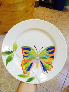 나비 접시2