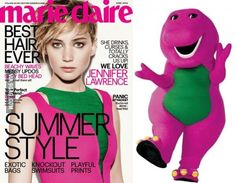 Jennifer Lawrence's cover outfit feels awfully familiar