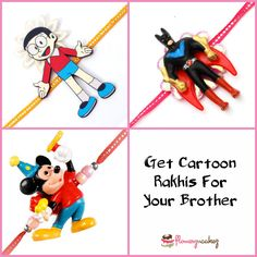 Get the best #Rakhis for your #brother just by clicking here -  http://www.flowerzncakez.com/products/rakhi-gifts.htm