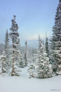 A snowy view of the Helena Valley from MacDonald Pass. Photo via Chris McGowan.