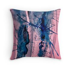"""Unused Psichedelic Cover Design 2013"" Throw Pillows by Oliver Sin"