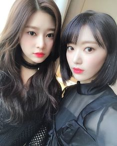 Kim Minjoo and Miyawaki Sakura! Kpop Girl Groups, Kpop Girls, Kpop Hair, Sakura Miyawaki, Yu Jin, Japanese Girl Group, Kim Min, I Love Girls, Soyeon