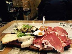 La Prosciutteria, Firenze - #prosciutto at its best with #chianti @laprosciutteria