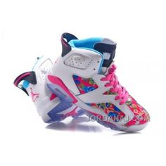 Air Jordan Retro 6 \u201cFloral Print\u201d Pink White Womens Size