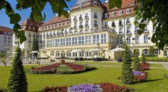Grand Hotel, Sopot, Poland.