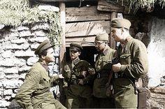 Soviet journalists - ww2