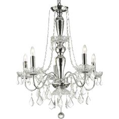 Wildon Home ® Katherine 5 Light Crystal Chandelier & Reviews | Wayfair