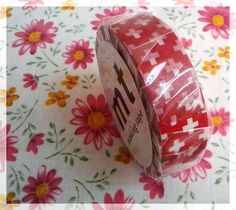 MT tape red washi tape