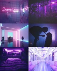 Purple aesthetic board