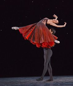 In the Night: Thiago Soares, Marianela Nunez - Photo by David Morgan