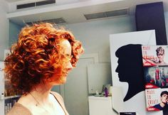 #schwarzkopf #academy #coppery #curly #facetoface