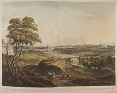 City of Dublin, by Thomas Sautell Roberts Maps Irish Independence, Photo Engraving, British Library, Dublin, Old Photos, Maps, Ireland, Paintings, City