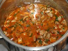 Goulash, Stew, Curry, Food And Drink, Cooking Recipes, Dishes, Ethnic Recipes, Red Peppers, Curries