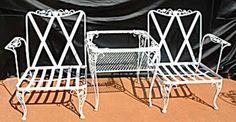 Lyon Shaw Windflower Lattice Patio Furniture Collection