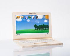 Wooden Laptop