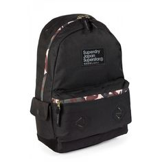 A backpack can be useful, and look good, #Superdry knows that!  This 22 liter Montana Ripstop Black backpack will be your best companion this summer.  #Mens #Summer #Bags
