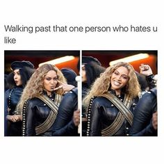 Beyonce Was a Chic Disco Ball of Bling at the 'Lion King' Premiere Really Funny Memes, Funny Facts, Funny Relatable Memes, Stupid Funny, Funny Jokes, Hilarious, Haters Funny, Funny Insults, Funny Pranks