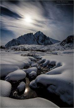 White night - Barguzin mountains, Siberia, Russia