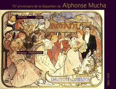 TG 14303 b Alphonse Mucha (Poster for M. Donnay comedy at the Renaissance theatre in Paris) Alphonse Mucha, Renaissance Theater, Painters, Art Nouveau, Vintage World Maps, Comedy, Stamps, Paris, Google