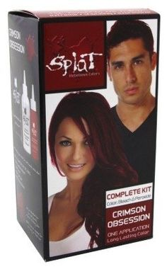 Splat Hair Color Kit 3 Pack Crimson Obsession ** You can get additional details at the image link.