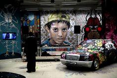 Across Athens, Graffiti Worth a Thousand Words of Malaise Street Art Love, Sidewalk Chalk, Public Art, Urban Art, Ny Times, Athens, Greece, Graffiti, Around The Worlds